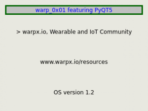 warpx.io OS version 1.2
